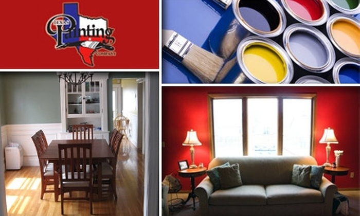 Texas Painting Company - Austin: $89 for $225 Worth of Interior Painting From Texas Painting Company