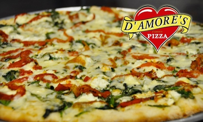 D'Amore's Pizza - Mid-City West: $10 for $20 Worth of Fare at D'Amore's Pizza