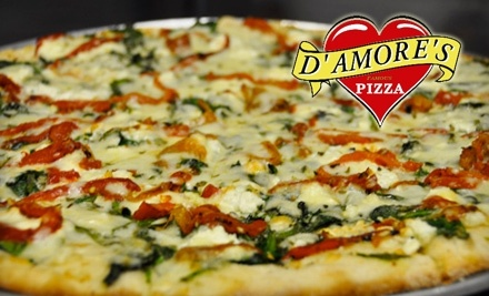 $20 Groupon to DAmores Pizza - DAmores Pizza in Los Angeles