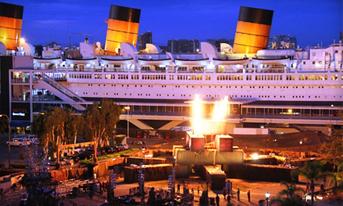 """""""The Queen Mary"""" - Long Beach: Dark Harbor Experience and Admission to """"The Queen Mary."""" Four Dates Available."""