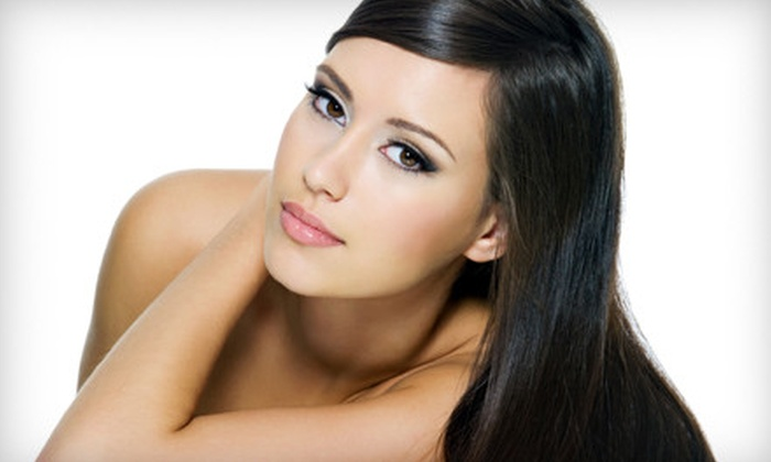 Tranquility Salon and Day Spa - Mount Sinai: $99 for Keratin Hair-Smoothing Package with a Haircut at Tranquility Salon and Day Spa in Mount Sinai ($240 Value)