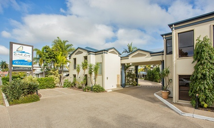 Mackay: One, Two or Three-Night Tropical Resort Stay with Buffet Breakfast + Late Checkout at Coral Cay Resort Motor Inn