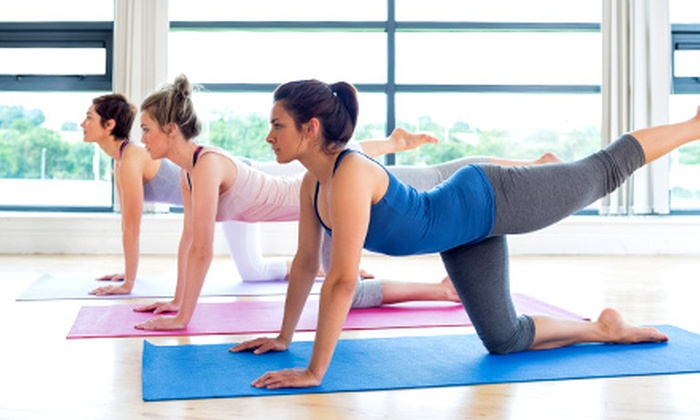 Mirror Image Fitness - South Arroyo: 5 or 10 Yoga or Absolutely Abs Classes at Mirror Image Fitness (Up to 61% Off)