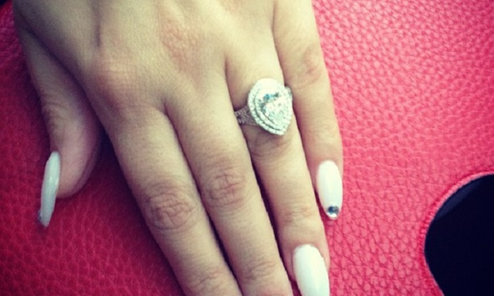 Nails By Claudia At Finger Fitness - North Jersey: $55 for $100 Worth of Nail Design Service — finger fitness