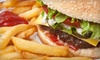 Black and White Grille - Spencer: American Food for Dinner or Lunch at Black and White Grille (Up to 52% Off)