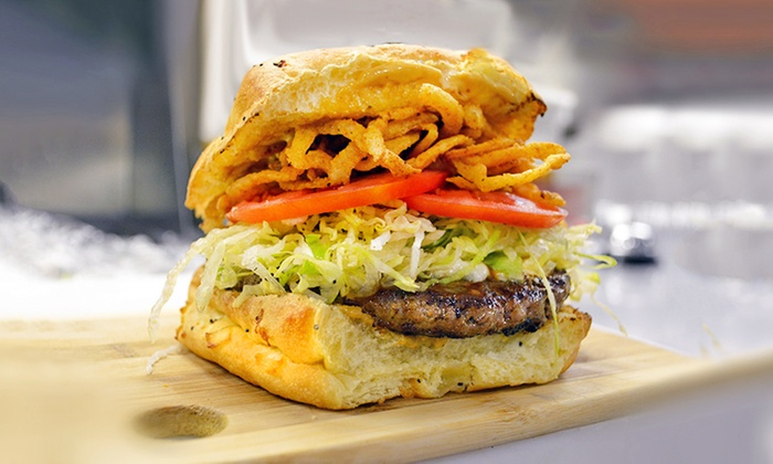 30 Burgers - Perth Amboy: Burgers and Sides at 30 Burgers (40% Off). Two Options Available.