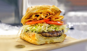 30 Burgers: Burgers and Sides at 30 Burgers (40% Off). Two Options Available.