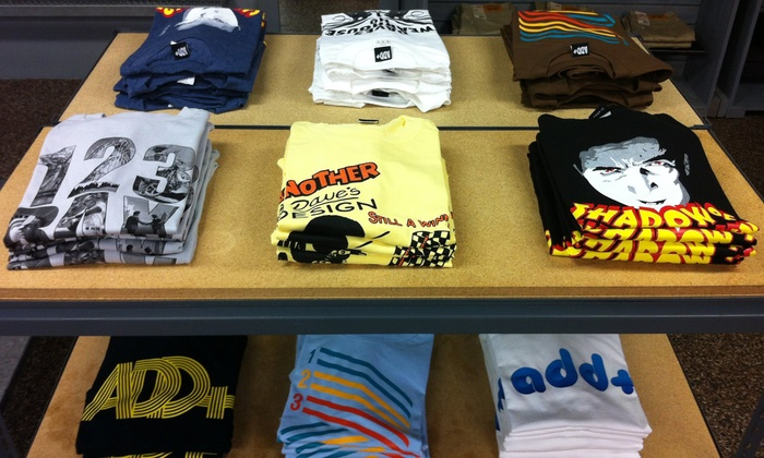 Dave's Wear House - Little Italy: $15 for $30 Worth of Graphic T-shirts, Sneakers, and Skateboarding Accessories at Dave's Wear House