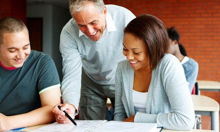 Skills Assessment and Four Tutoring Sessions, or One Online ACT Prep Course from Sylvan Learning (Up to 71% Off)