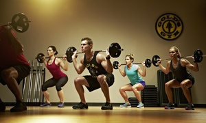 Gold's Gym: Three-Month Membership to Gold's Gym (Up to 67% Off)