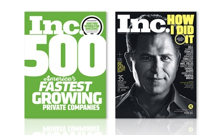 1-Year, 10-Issue Subscription to Inc. Magazine