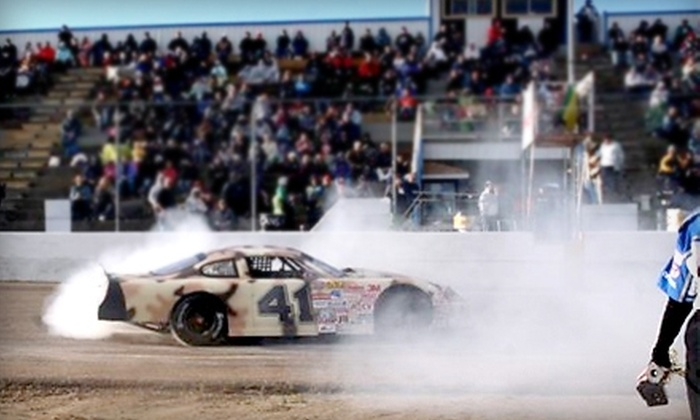 Edmonton International Raceway - Wetaskiwin: $15 for Two Admissions to Any Stock-Car Race at Edmonton International Raceway in Wetaskiwin (Up to $30 Value)