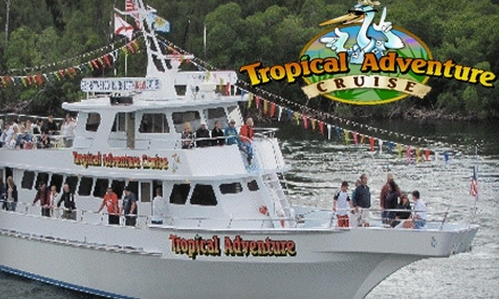 Tropical Adventure Cruise - Hollywood Lakes: $29 for Admission for Two to Tropical Adventure Cruise, Including Two Hotdogs and Two Soft Drinks (Up to $57.90 Value)