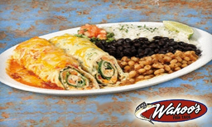 Wahoo's Fish Taco - Multiple Locations: $6 for $12 Worth of Mexican and Oceanic Fare at Wahoo's Fish Taco