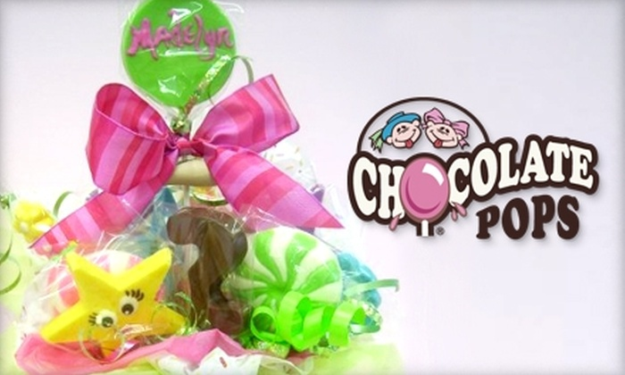 Chocolate Pops - New Irving Park: $10 for $25 Worth of Sweets at Chocolate Pops