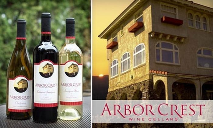 Arbor Crest Wine Cellars - Multiple Locations: $2 Tasting of Five Wines at Arbor Crest Wine Cellars ($5 Value)