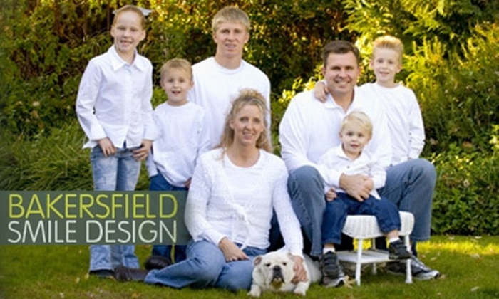Bakersfield Smile Design - Downtown Bakersfield: $89 for Exam, X-rays, and Cleaning at Bakersfield Smile Design ($360 Value)