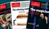 """The Economist Newspaper: $51 for 51-Issue Subscription to """"The Economist"""" ($126.99 Value)"""