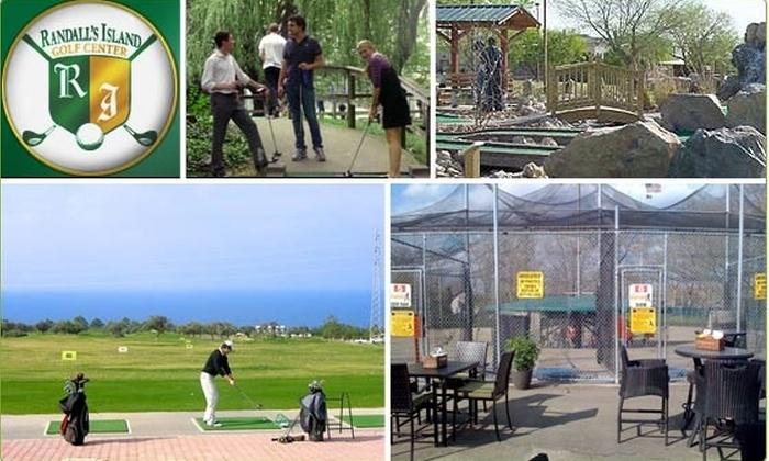 Randall's Island Golf Center - New York: $10 for $25 Groupon to Randall's Island Golf Center