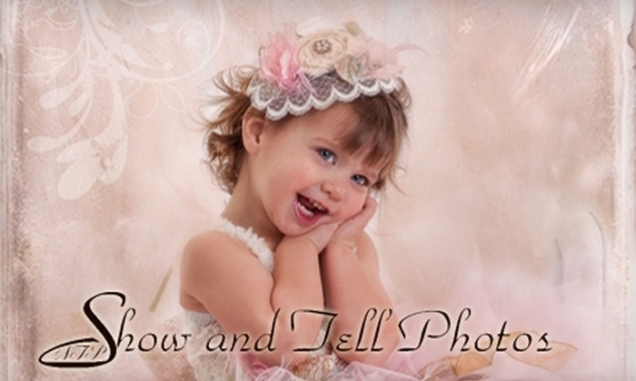 "Show & Tell Photos - Sherwood Park: $59 for a One-Hour Photo Session and One 11""x14"" Portrait at Show & Tell Photos ($650 Value)"