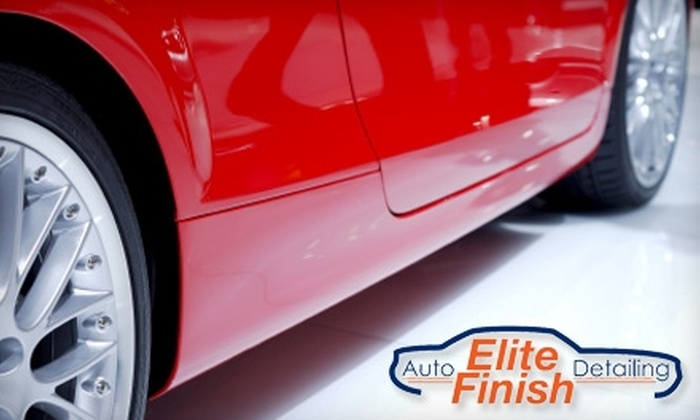 Rhodes Auto Detailing - Multiple Locations: $12 for a Basic Hand Car Wash at Elite Finish Auto Detailing ($25 Value)