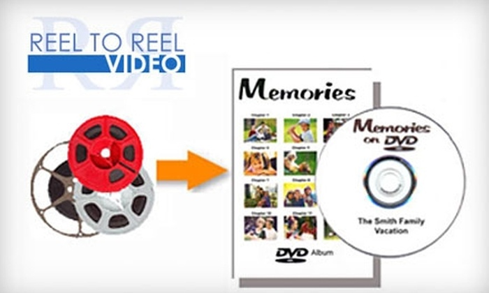 Reel To Reel Video Inc. - Long Island: $25 for Digitized Video and Photos at Reel To Reel Video Inc. ($50 Value)