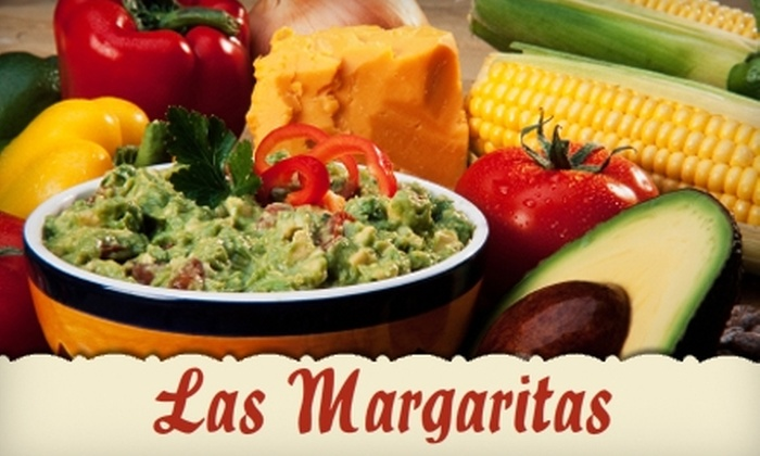 Las Margaritas - Springfield MO: $10 for $20 Worth of Mexican Fare and Cocktails at Las Margaritas