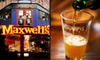 Maxwell's - Hoboken: $15 for $30 Worth of Casual Dining at Maxwell's