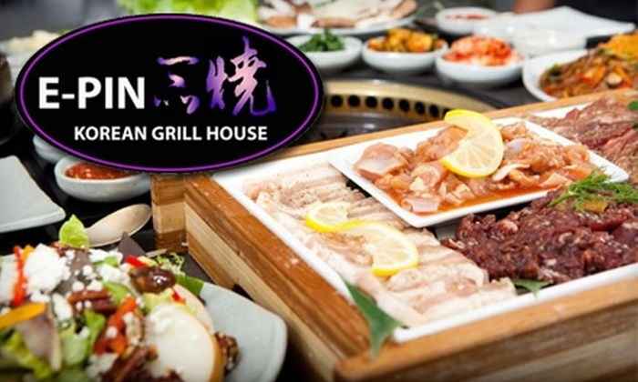 E-Pin Korean Grill House Halifax - Downtown Halifax: $20 for $40 Worth of Dinner and Drinks at E-Pin Korean Grill House
