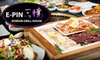 E-PIN Korean Grill House (CLOSED) - Downtown Halifax: $20 for $40 Worth of Dinner and Drinks at E-Pin Korean Grill House