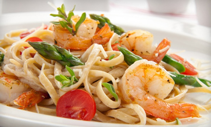 Annexe Resto - Downtown: Steak, Seafood, and Pasta with Drinks for Dinner or Lunch at Annexe Resto (Half Off)