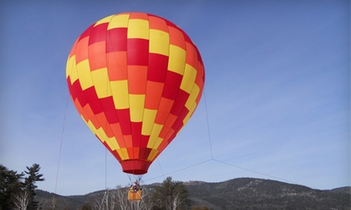 SunKiss Ballooning - Queensbury: $105 for 40- to 60-Minute Hot Air Balloon Ride and Picnic from SunKiss Ballooning