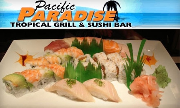 Pacific Paradise - Kiva Addition: $15 for $30 Worth of Pacific Rim Cuisine and Drinks at Pacific Paradise