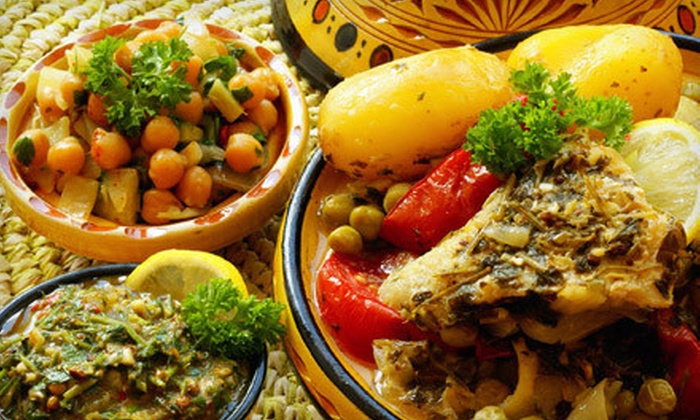 Meskerem Ethiopian Restaurant - Atlanta-Decatur: Ethiopian Dinner for Two or Four at Meskerem Ethiopian Restaurant (Up to 60% Off)