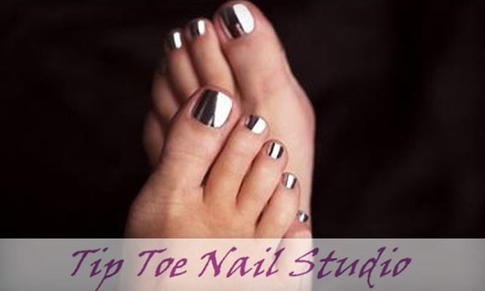 Tip Toe Nail Studio - Montgomery: $30 for a Minx Pedicure Treatment at Tip Toe Nail Studio ($65 Value)
