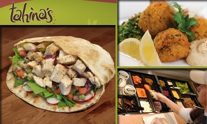 Tahina's - Baltimore: $5 for $10 Worth of Mediterranean Eats at Tahina's