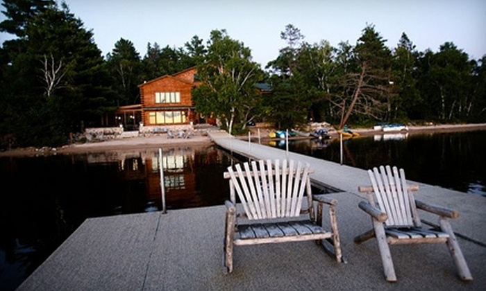 Elbow Lake Lodge - Beatty: $250 for $500 Worth of Lakeside Lodging at Elbow Lake Lodge in Cook