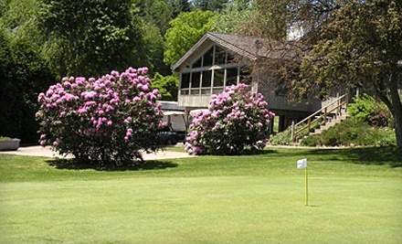 Shaker Farms Country Club: 18 Holes of Golf for 1 Person, 1 Cart, a Small Bucket of Range Balls, and a Limited Lunch - Shaker Farms Country Club in Westfield