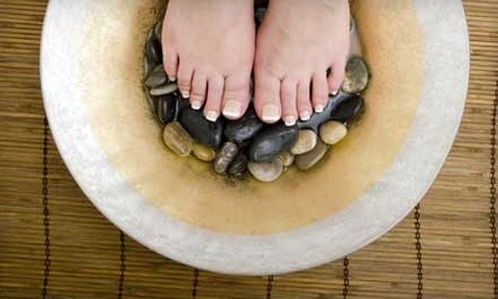Detox for Healthy Living - Creston: $29 for Ionic Foot Detox and Foot Massage at Detox for Healthy Living ($60 Value)