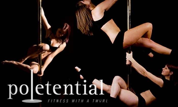 Poletential - San Mateo: $20 for a Pole-Introduction Workshop at Poletential in Redwood City ($60 Value)