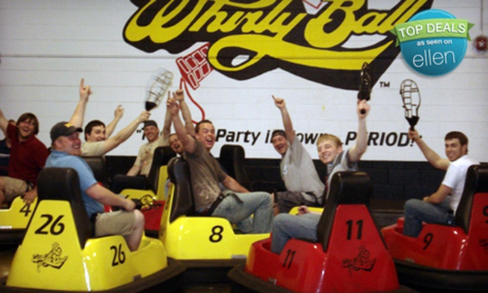 Whirlyball Novi - Novi: $155 for a Whirlyball Outing with Pizza for Up to 15 People at Whirlyball Novi (up to a $389 Value)