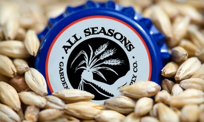 All Seasons Gardening & Brewing Supply Co. - Nashville-Davidson metropolitan government (balance): $10 for $20 Worth of Home Brewing or Gardening Supplies at All Seasons Gardening & Brewery Supply Co.