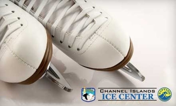 Channel Islands Ice Center - South Bank: $5 for Open Skate and Skate Rental at Channel Islands Ice Center in Oxnard