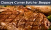 Shannon's Corner Butcher Shoppe (FKA Clancy's Corner Butcher Shoppe) - Lombard: Specialty Steaks, Sausages, and More at Clancy's Corner Butcher Shoppe in Lombard. Choose Between Two Options.