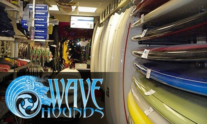 Wave Hounds - Fremont: $43 for a Paddleboard Rental from Wave Hounds