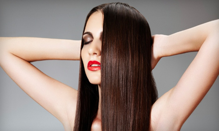 Bellazza Salon and Boutique - Richland Heights East: $139 for Japanese Hair-Straightening Treatment at Bellazza Salon and Boutique (Up to $600 Value)