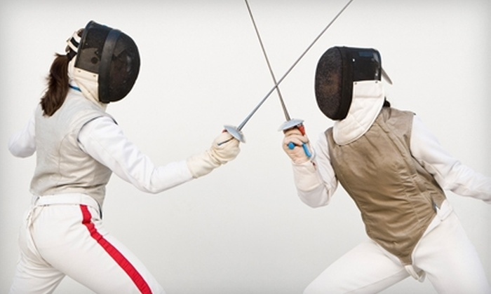 All-American Fencing Academy - Raleigh / Durham: $25 for Four Beginner Fencing Classes at the All-American Fencing Academy ($70 Value)