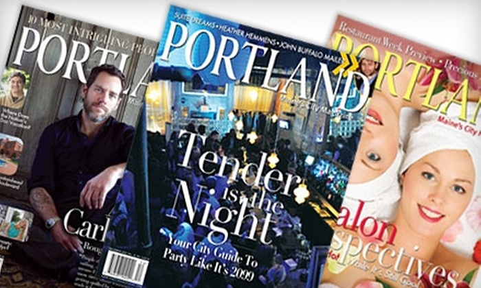 """Portland Monthly: $19 for a One-Year Subscription to """"Portland Monthly"""" ($39 Value)"""