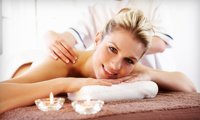 Laura DiCesare at Blu Water Medi Spa Salon - Monroe: $50 for a Peppermint-Massage Package with Aromatherapy from Laura DiCesare at Blu Water Medi Spa Salon ($100 Value)