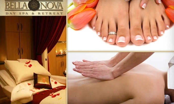 Bella Nova Day Spa & Retreat - Copperfield Place: $69 Spa Package from Bella Nova Day Spa & Retreat (Up to $205 Value). Choose From Four Spa Packages.
